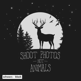Shoot Photos not Animals - Hoodie