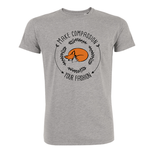 Make compassion your fashion - T-Shirt - groß/gerader Schnitt