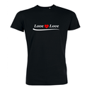Love is Love - T-Shirt - groß/gerader Schnitt