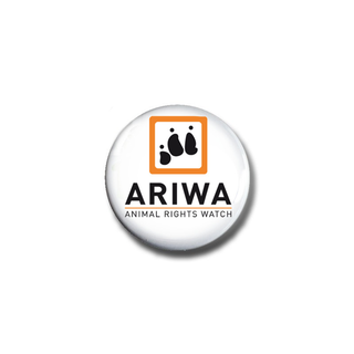 Button: Animal Rights Watch (ARIWA)