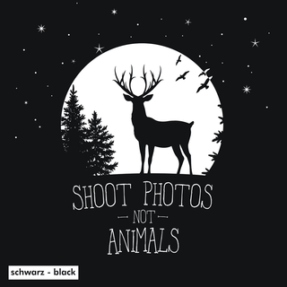 Shoot Photos not Animals - Tanktop - klein/taillierter Schnitt