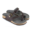 Toe Strap Sandal - brown