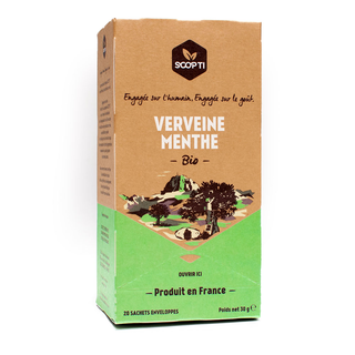 Organic herbal tea Verbena Spearmint (Scop Ti)