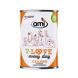 Ami V-Love every day ORANGE (Pumpkin & sweet potatoes) - 400 g