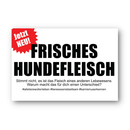 Frisches Hundefleisch (fresh dog meat) - Sticker (10x)