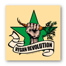Vegan Revolution - Sticker