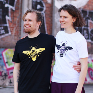Bee or not to be - T-Shirt - groß/gerader Schnitt