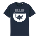 SALE! Fisch (I hate this) - T-Shirt - groß/gerader...