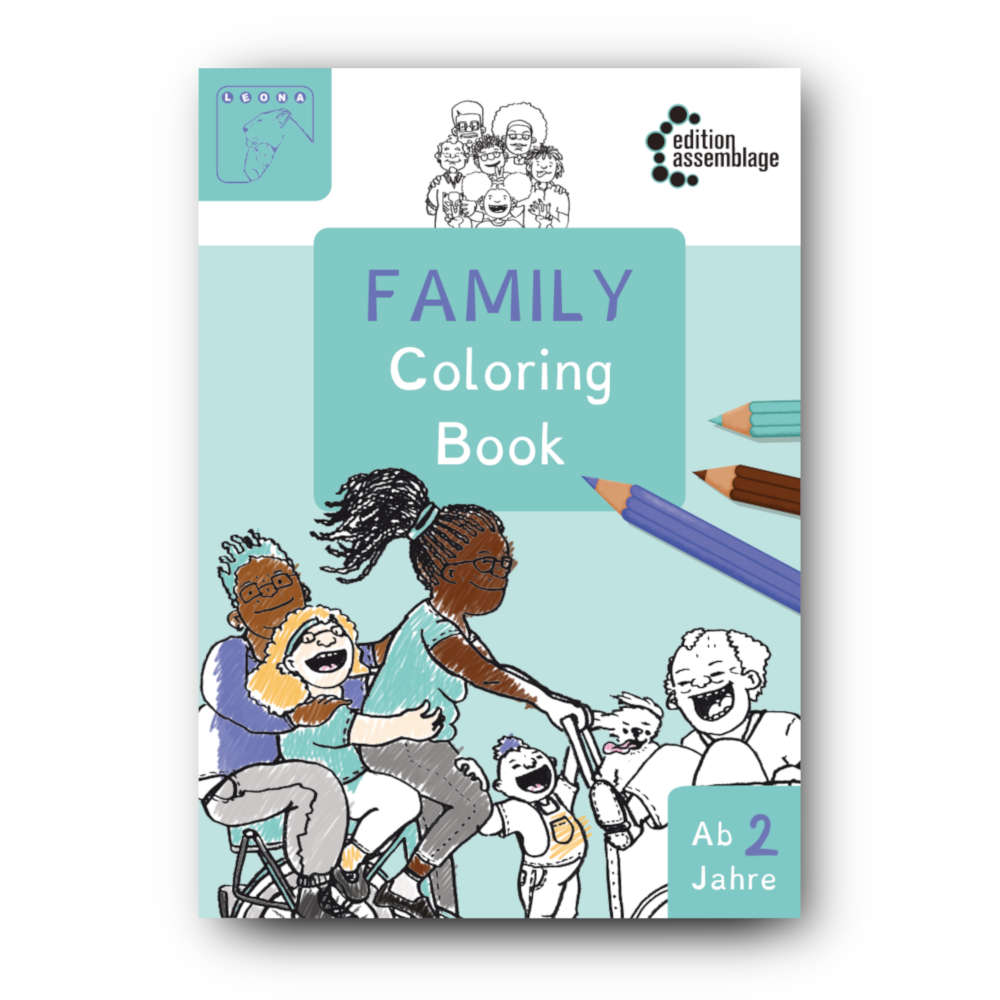 Family Coloring Book - LEONA