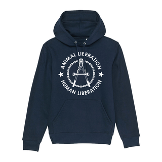 Human Liberation - Animal Liberation - Kapuzenpullover - medium fit
