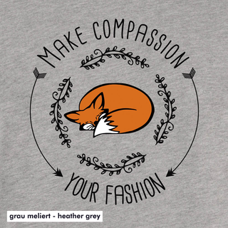 Make compassion your fashion - Kapuzenpullover - medium fit