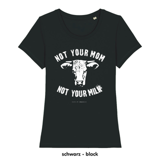 Not your mom - T-Shirt - schwarz - small/waisted cut