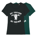 Not your mom - T-Shirt - small/waisted cut