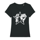 Paw Fist Star  - T-Shirt - small/waisted cut