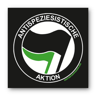 Antispeciesist Action - Sticker