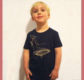 Wal - T-Shirt - Kinder