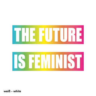 The Future is Feminist - T-Shirt - klein/taillierter Schnitt