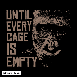 Until Every Cage is Empty - T-Shirt - large/loose cut