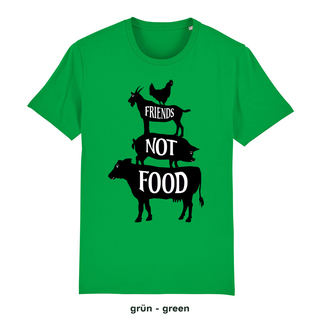 Friends not Food - T-Shirt - large/loose cut