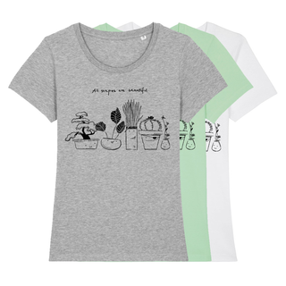 All shapes are beautiful - T-Shirt - small/waisted cut