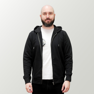 Basic - Hooded Jacket - medium fit