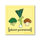 Plant Powered - Sticker