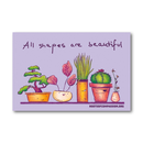 All Shapes are Beautiful  - Sticker