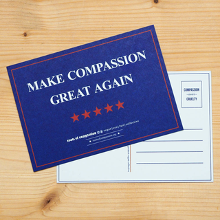 Postcard  Make Compassion Great Again