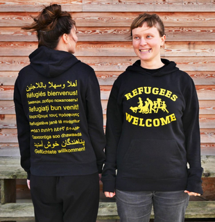 Refugees Welcome - Soli Kapuzenpullover - medium fit