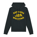 Refugees Welcome - Benefit Hooded Sweatshirt - medium fit