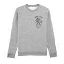 Herbivore Heart - Crew Neck Sweater - medium fit