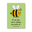 If we die - Stickers (10x)