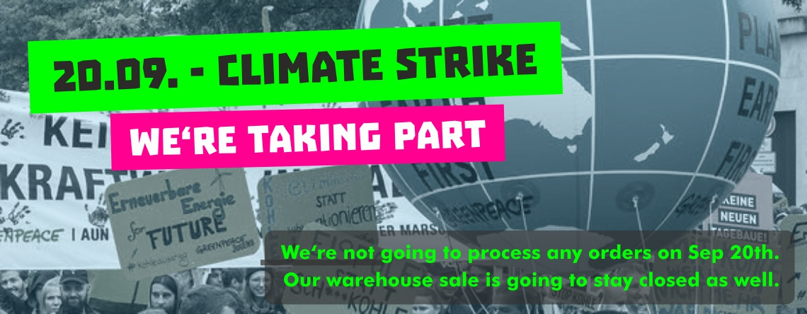 Climate Strike - We're taking part!