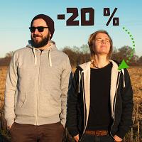 20% Rabatt auf gefütterte Jacken - bio, fair, vegan