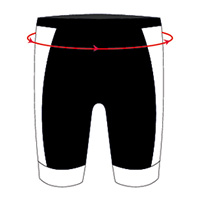 bioracer pants - so wird der Hüftumfang gemessen - this is how to measure your hip width