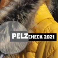 Ansicht einer Jacke mit Pelzkragen