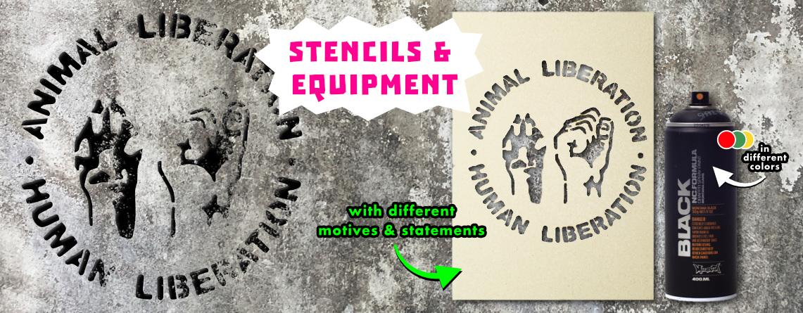 NEW | Stencils & Equipment