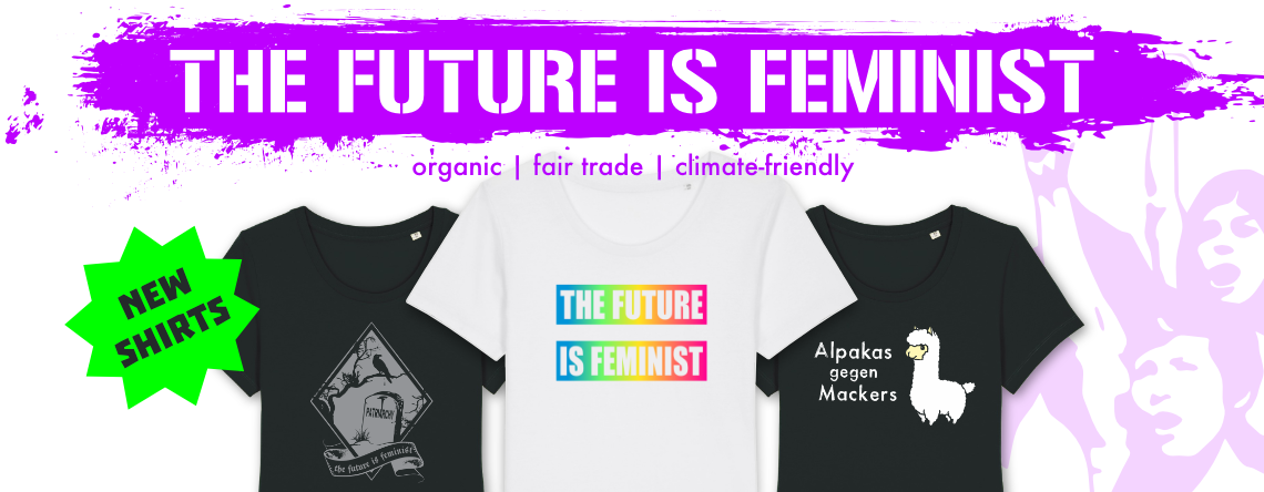 The Future is Feminist - New Shirts